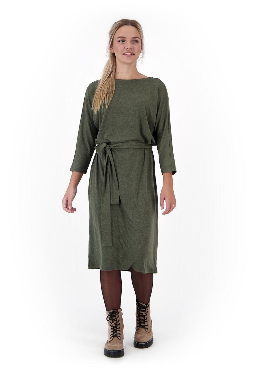 Damen-Kleid olivgrün