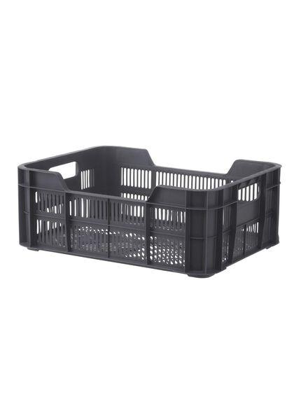 storage crate 41 x 31 x 15 cm - anthracite - 39891024 - hema