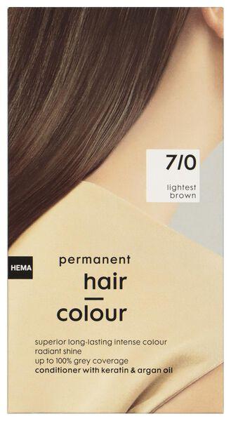 coloration cheveux brun clair 7/0 - 11050032 - HEMA