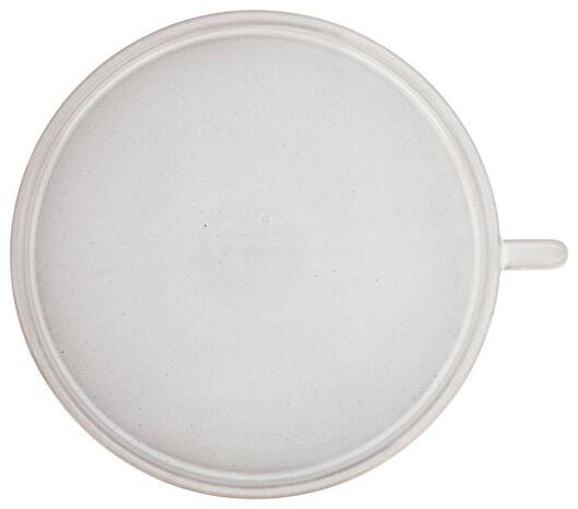 plateau à bougies Ø23x2 - vernis réactif - gris clair - 13322030 - HEMA