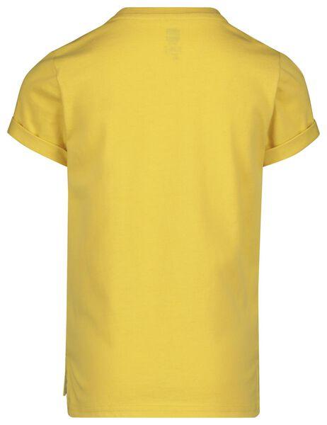 Kinder-T-Shirt gelb gelb - 1000019120 - HEMA