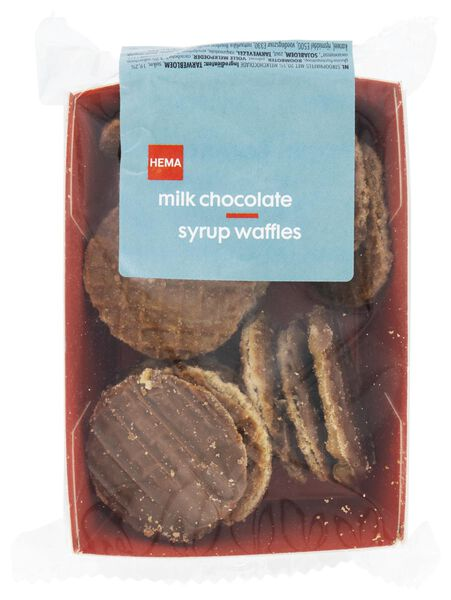 treacle wafer with milk chocolate 145 grams - 10820004 - hema