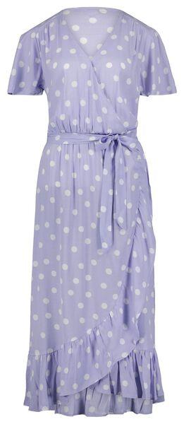 Damen-Kleid, Rüschen lila lila - 1000024333 - HEMA