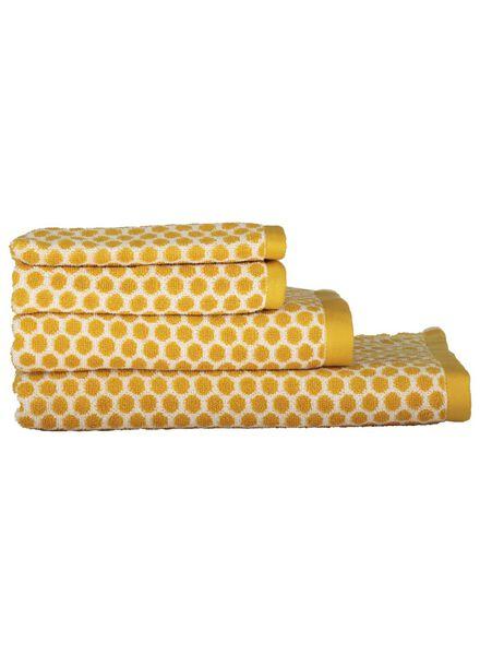 gant de toilette - qualité épaisse - ocre pois ocre gant de toilette - 5220028 - HEMA