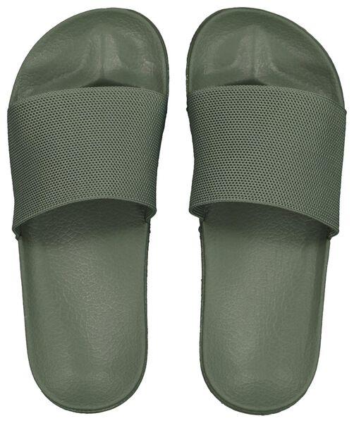 women's flip-flops army green army green - 1000018103 - hema