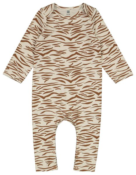 Baby-Schlafanzug, Zebra eierschalenfarben 86/92 - 33328722 - HEMA