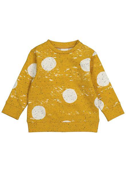 Baby-Sweatshirt gelb gelb - 1000014261 - HEMA