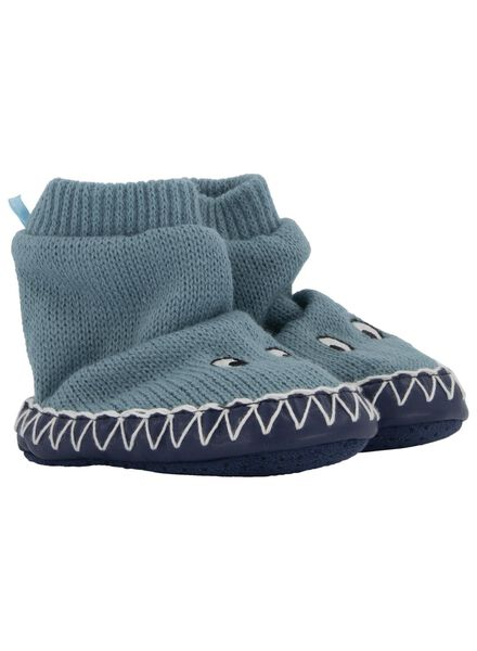 baby bootees light blue light blue - 1000017163 - hema