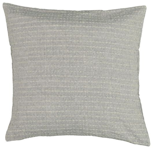 cushion cover 50x50 - structured white - 7322015 - hema