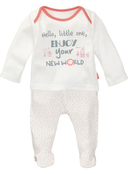 newborn girls set pink pink - 1000005427 - hema