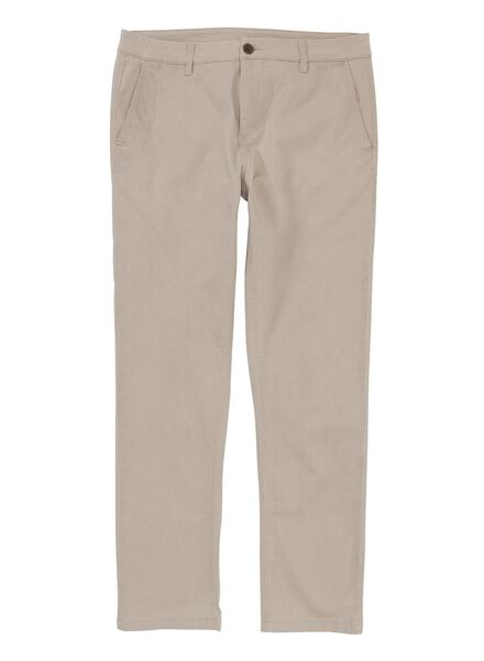 men's chino trousers sand sand - 1000006068 - hema