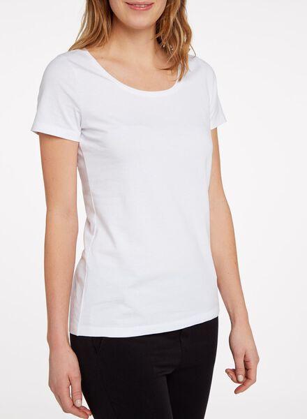 women's T-shirt white white - 1000005474 - hema