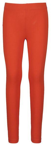 children's leggings red red - 1000017842 - hema