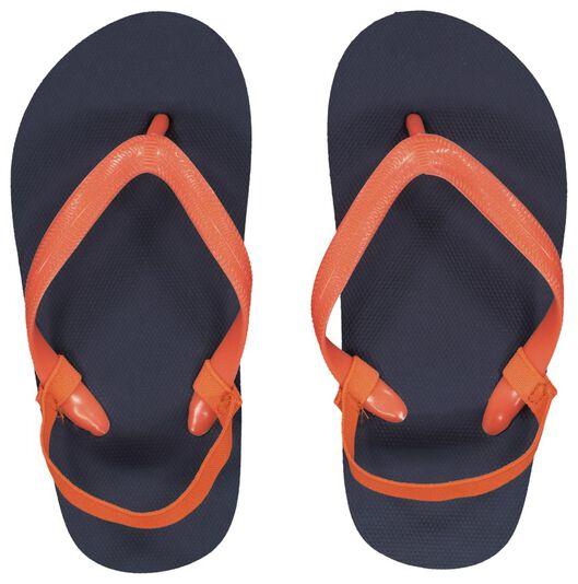 children's flip-flops dark blue dark blue - 1000023104 - hema