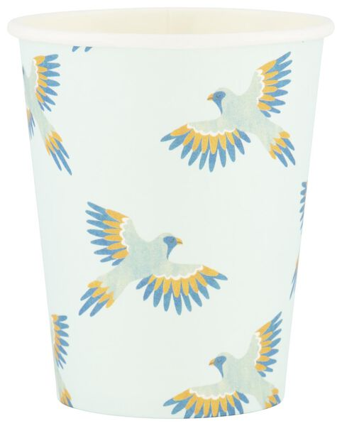 8 paper cups 250 ml - trend - 14280115 - hema