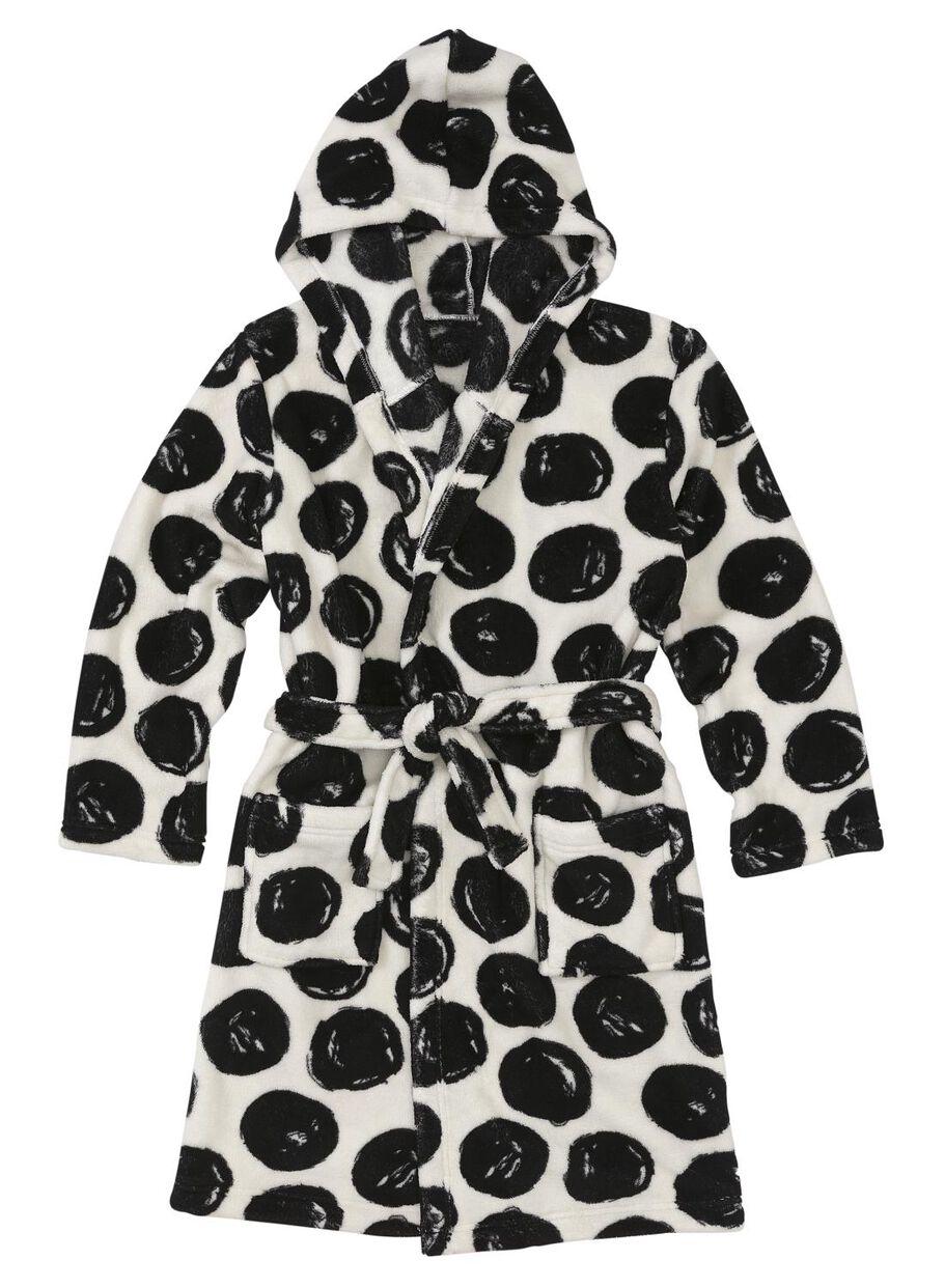 c3319649f5abf images peignoir enfant noir/blanc noir/blanc - 1000006650 - HEMA