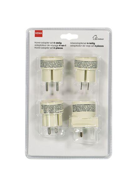 4er-Pack Reiseadapter - 18600170 - HEMA