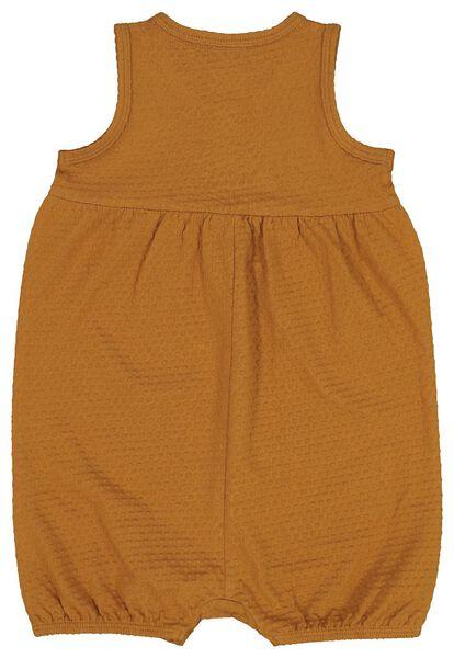 baby jumpsuit brown brown - 1000019664 - hema