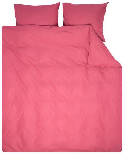 duvet cover - 200 x 200/220 - soft cotton - pink - 5790069 - hema