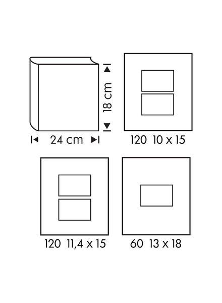 Fotoalbum, 18 x 24 cm, Schwäne - 14633311 - HEMA