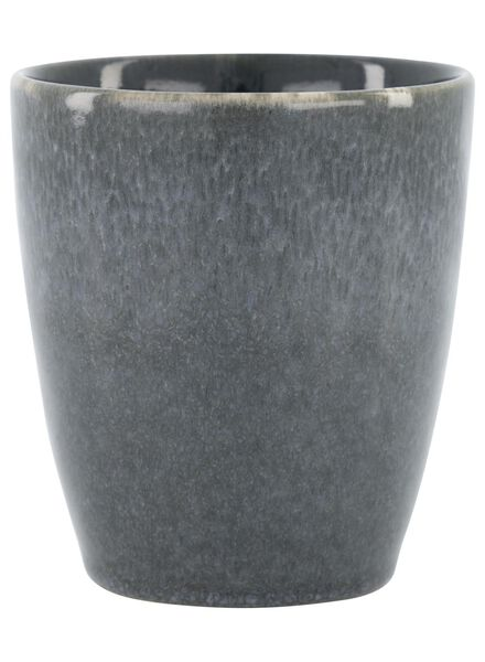 mug 8 cm - Porto émail réactif - noir - 9602033 - HEMA