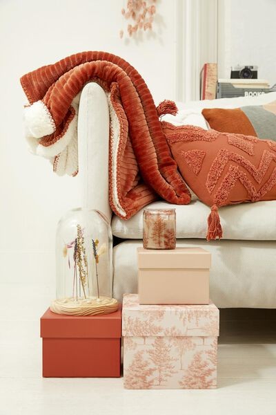 3 cardboard boxes pink forest - 39822220 - hema