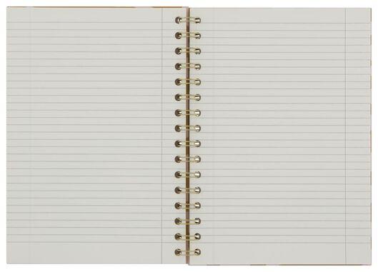 Notizbuch, Spiralbindung, DIN A5, liniert, Zebra - 14100066 - HEMA