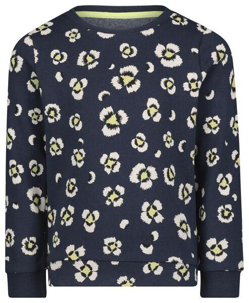 children's sweater dark blue dark blue - 1000022218 - hema