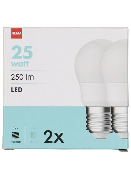 LED light bulb 25W - 250 lm - bullet - bright - 20090036 - hema