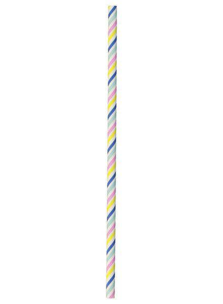 20 pailles en papier - 14210096 - HEMA