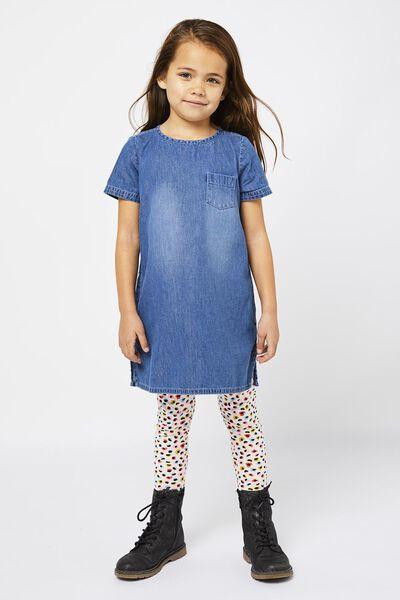 Kinder-Kleid jeansfarben jeansfarben - 1000022416 - HEMA