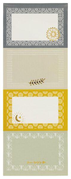 20 étiquettes imprimées - 14590359 - HEMA