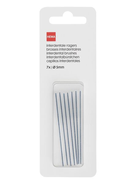 7-pack interdental brushes Ø 5 mm - 11133352 - hema