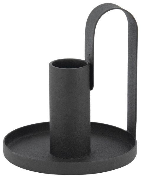 Kerzenhalter, Ø 8.5, schwarz - 13321016 - HEMA
