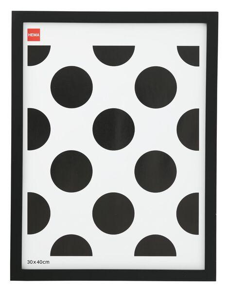 cadre photo bois 30x40 - noir - 13621038 - HEMA