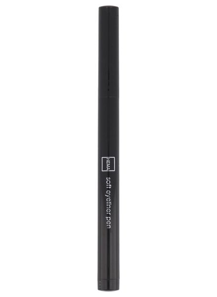 soft eyeliner waterproof 77 black - 11210177 - HEMA