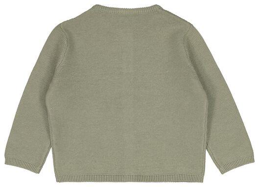 baby cardigan green green - 1000023530 - hema