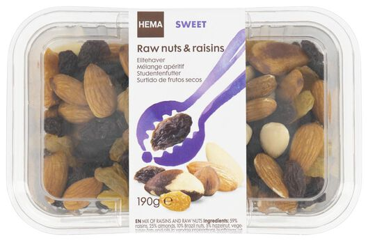 luxury nuts and raisins - 10654464 - hema