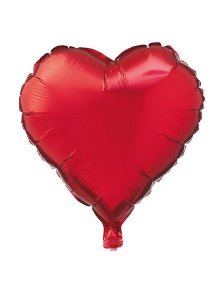 Folienballon Herz, 16 cm - 14230141 - HEMA