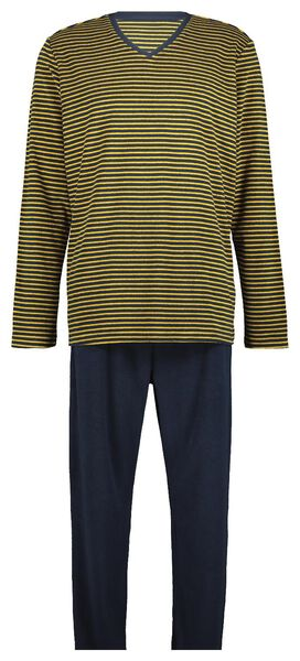 pantalon de pyjama en tissu éponge bleu foncé bleu foncé - 1000020364 - HEMA