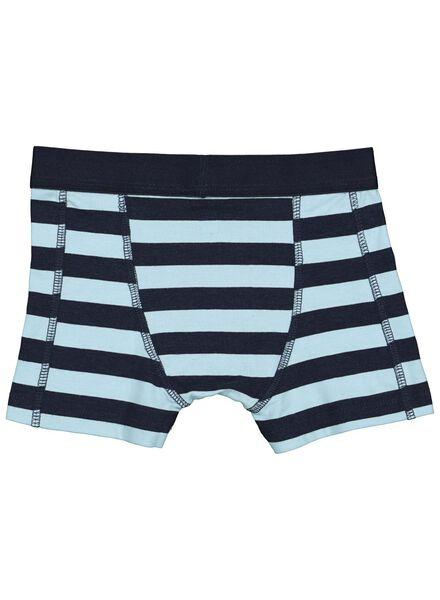 2er-Pack Kinder-Boxershorts, Bambus blau blau - 1000014608 - HEMA