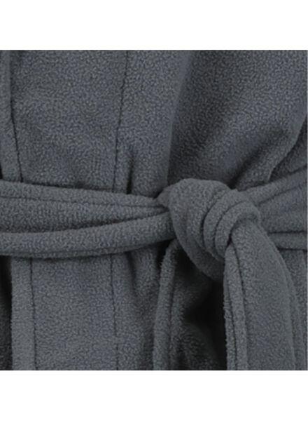 men's bathrobe dark grey dark grey - 1000014703 - hema