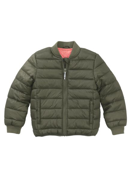 children's jacket army green army green - 1000006344 - hema