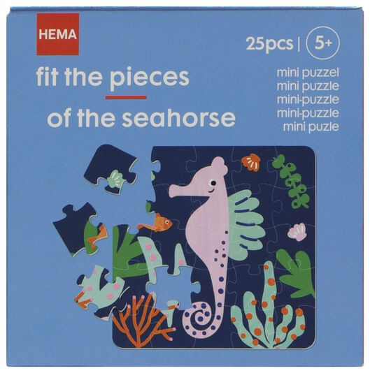mini puzzle hippocampe - 15180045 - HEMA