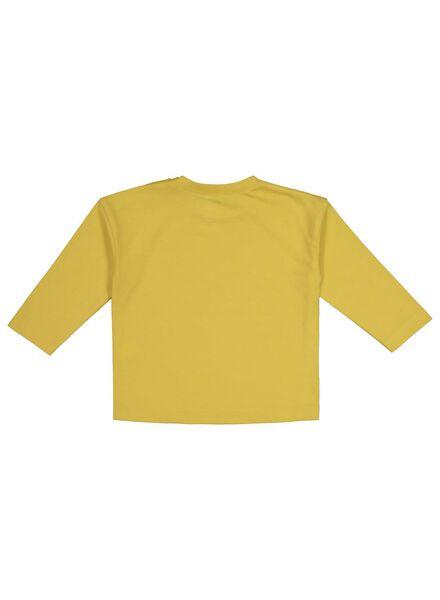 baby T-shirt yellow yellow - 1000017509 - hema