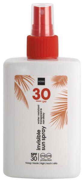 invisable sunspray SPF30 200ml - 11610204 - HEMA
