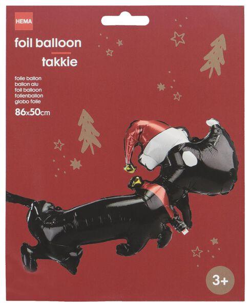 Folienballon Takkie, 86 x 50 cm - 25110001 - HEMA