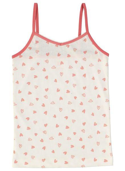 2-pack children's vests pink pink - 1000014981 - hema