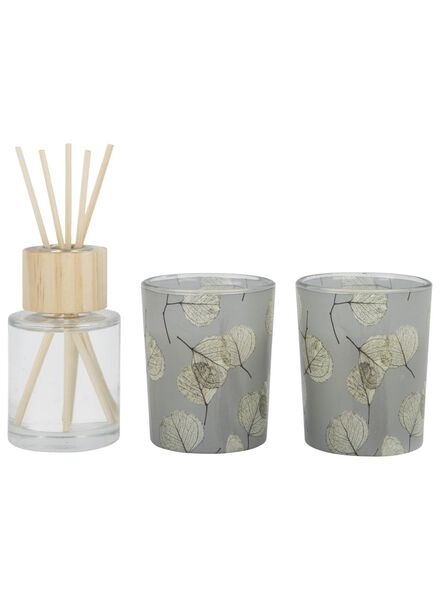 gift set scented candles - pomegranate - 13501983 - hema