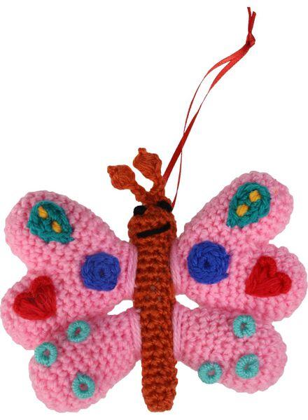 Häkelset Schmetterlings-Schlüsselanhänger - 15990032 - HEMA